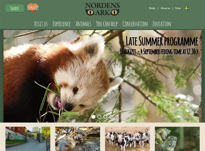 nordens ark zoo