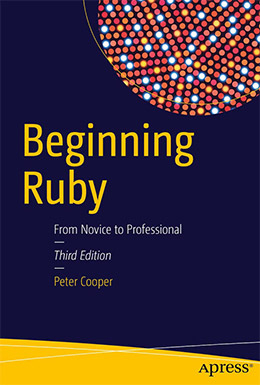 beginning ruby book