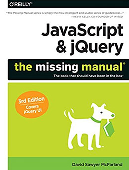 javascript jquery missing manual