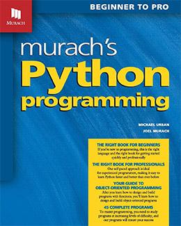 murach python book