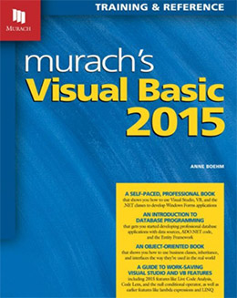 murachs visual basic book