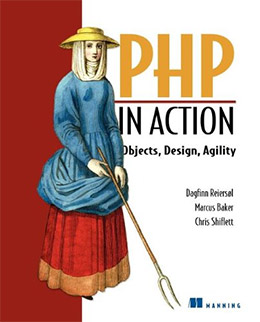 php in action book cover