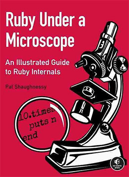 ruby under microscope