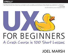 ux for beginners book