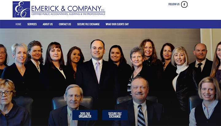emerick company accounting