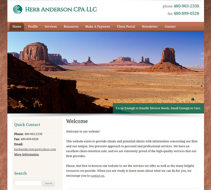 herb anderson cpa