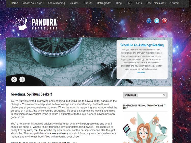 pandora astrology
