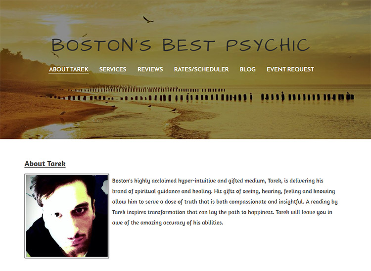 tarek boston psychic