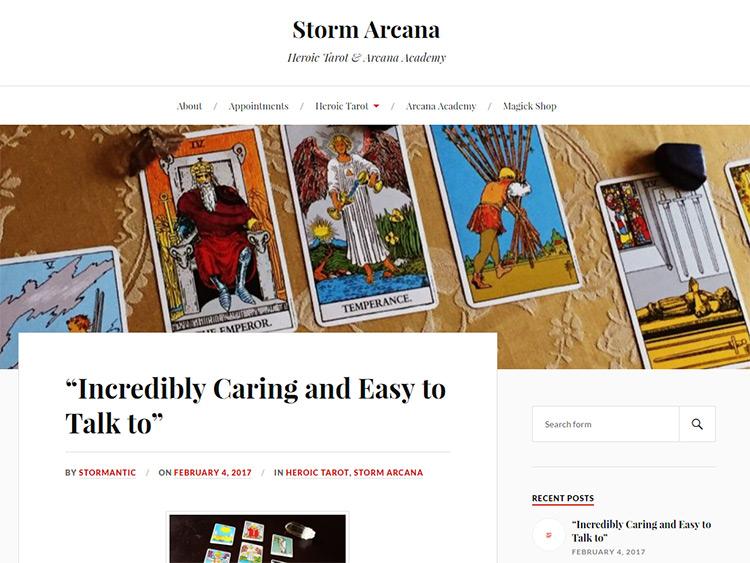 storm arcana
