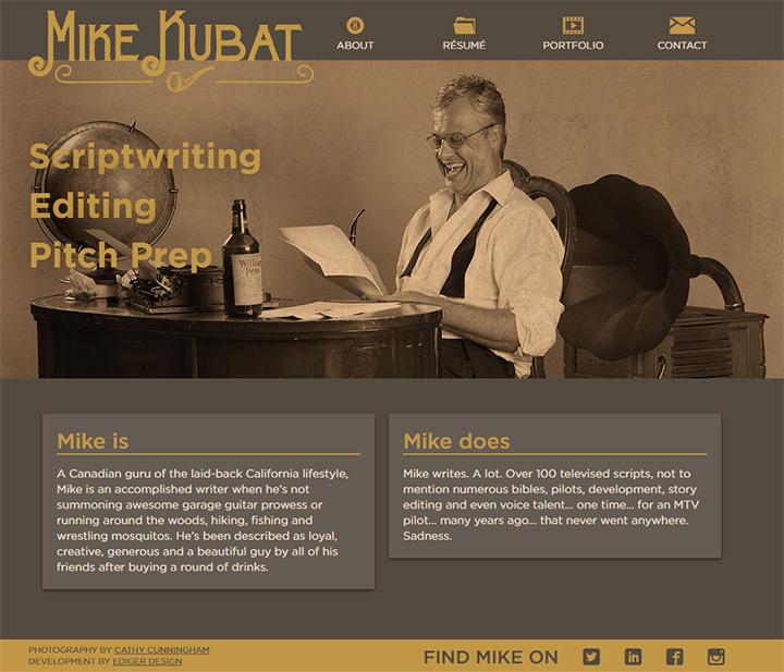 mike kubat writer