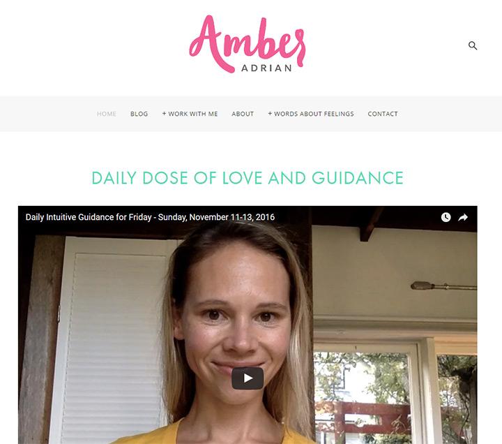 amber adrian writer
