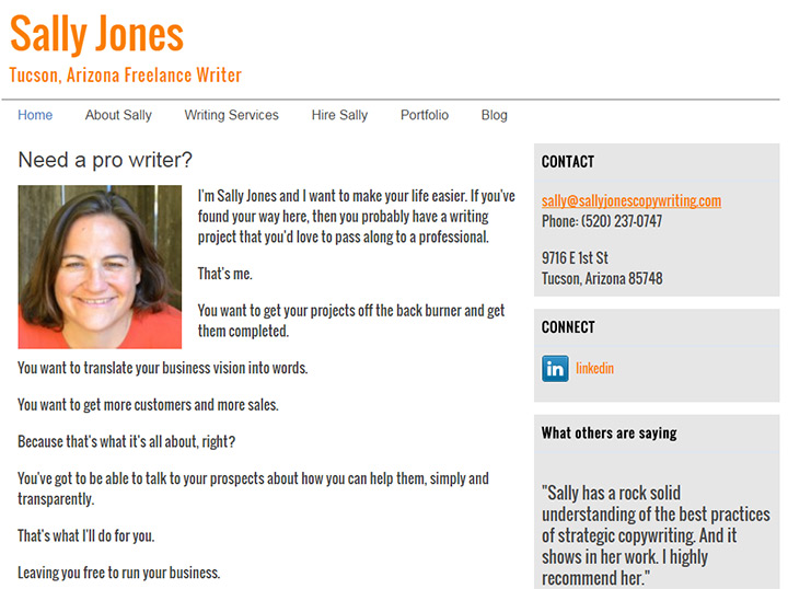 sally jones writer