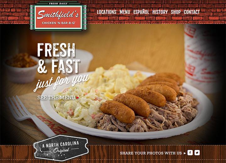smithfields chicken bbq
