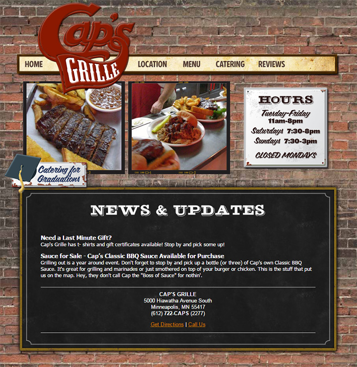 capps grille