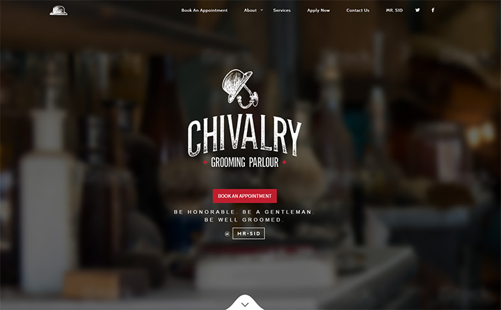 chivalry grooming