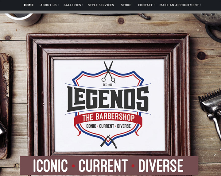 legends barber shop