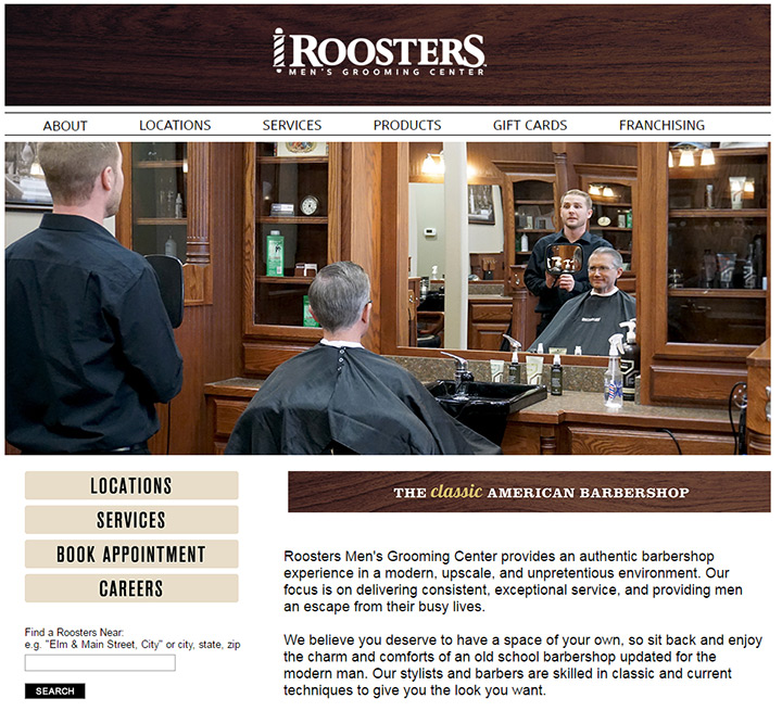 roosters salon