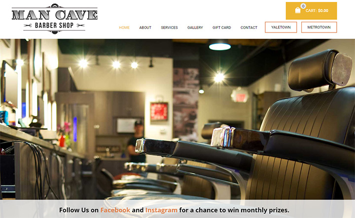 Man Cave Barber Toronto : The man cave barber lounge best