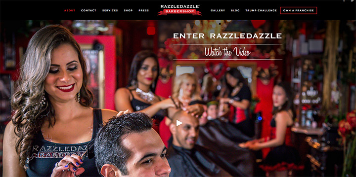 razzle dazzle barber