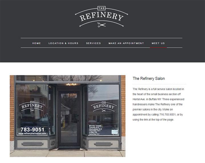 the refinery salon