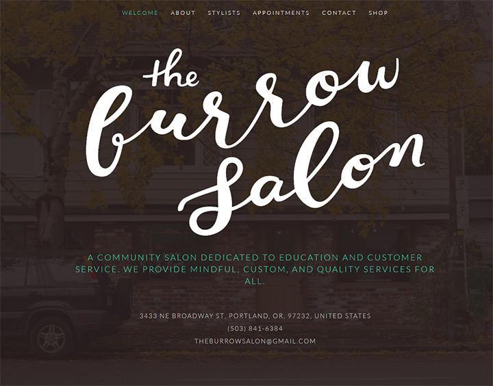 the burrow salon
