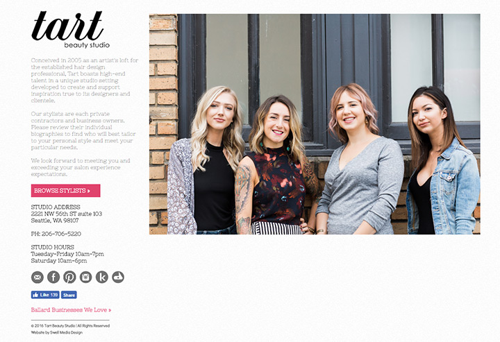 100 Beauty Hair Salon Website Designs
