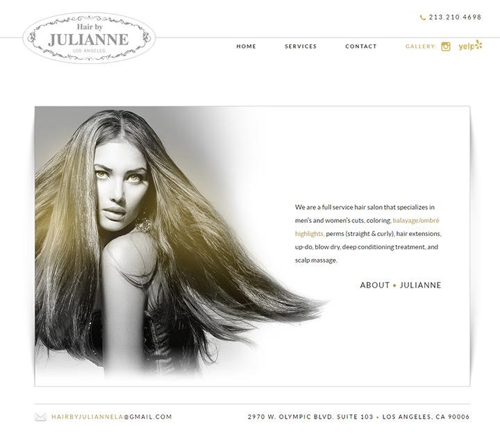 hair by julianne