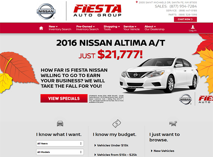 fiesta auto group