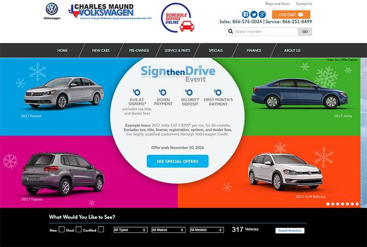 Ray Skillman Chevy >> 100+ Best Car Dealership Website Designs