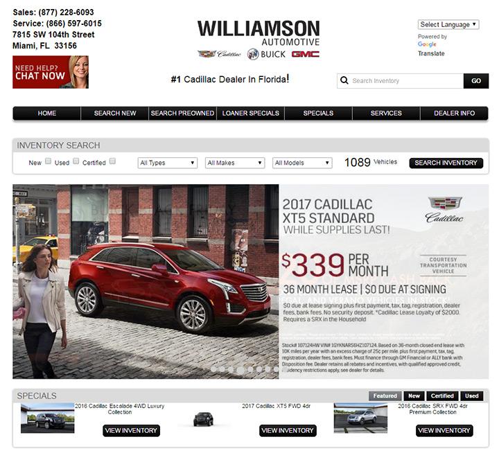 williamson auto