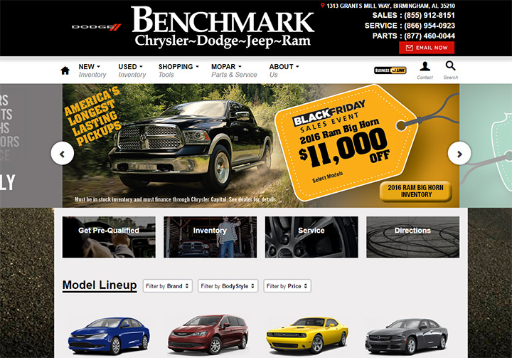 benchmark dodge