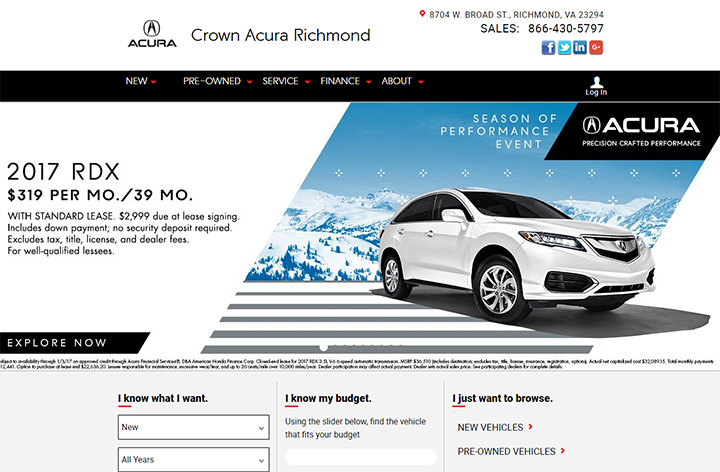 crown richmond acura