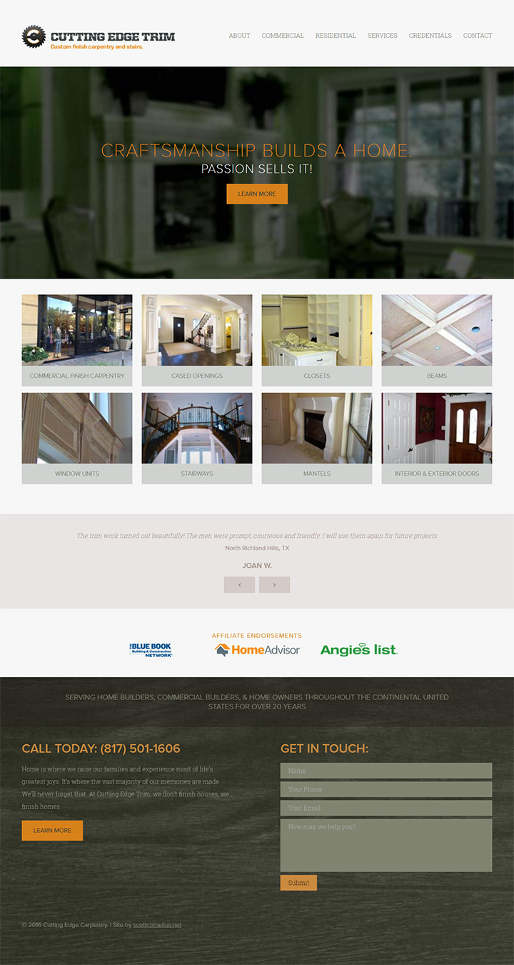 100 Carpentry Amp Roofing Business Web Designs
