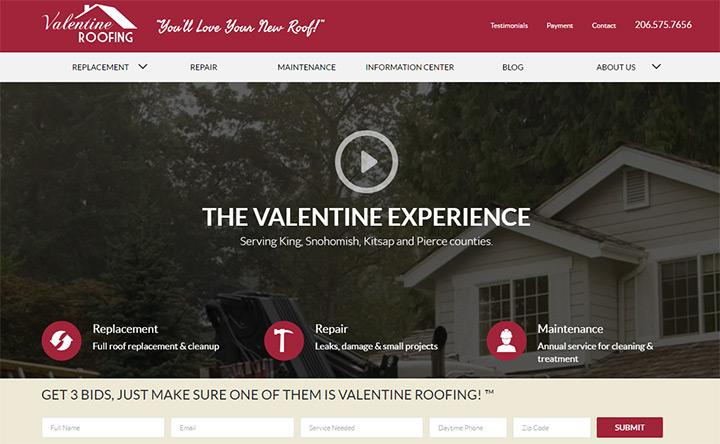 valentine roofing
