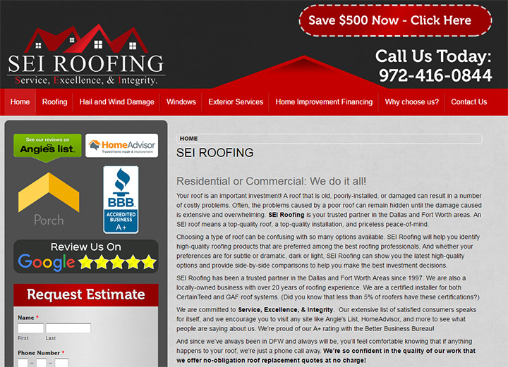sei roofing