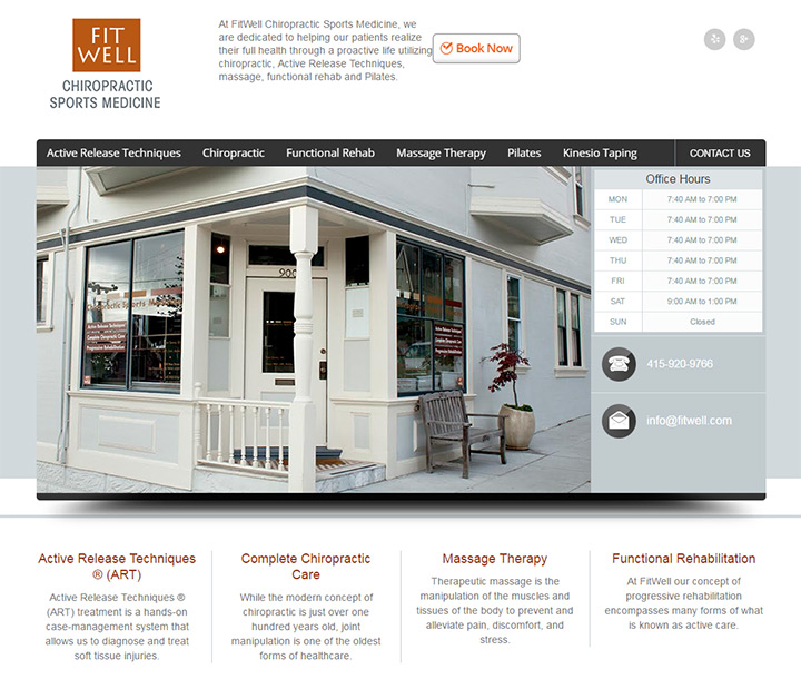fitwell homepage