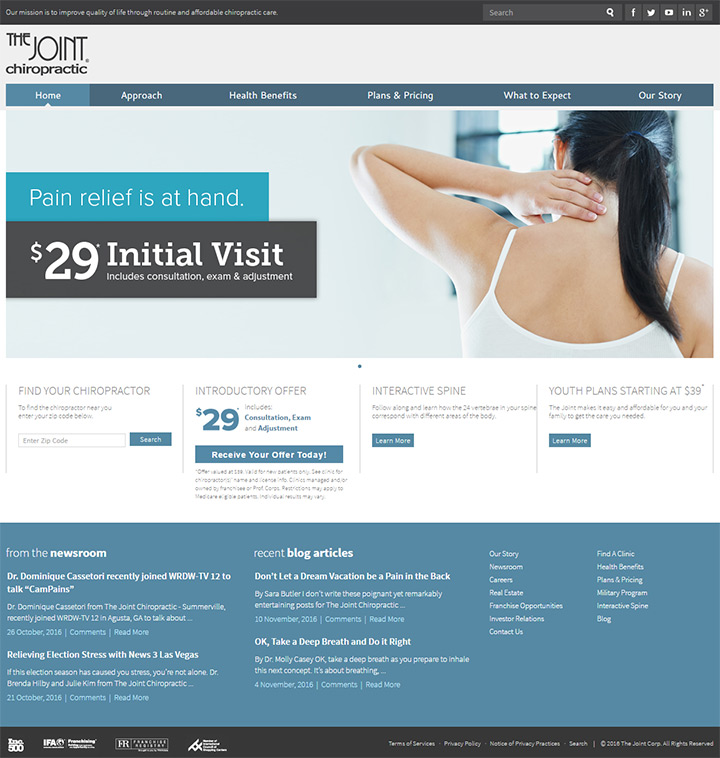 the joint chiro