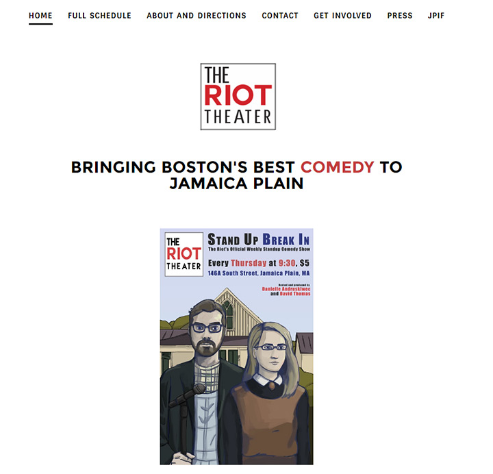 riot theater