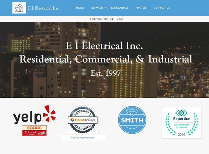 100+ Best Electrician Website Designs