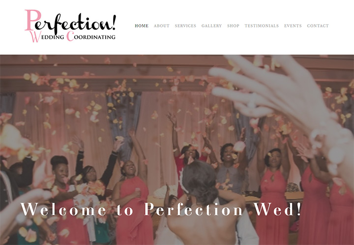 perfection wedding