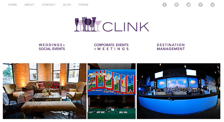 clink events