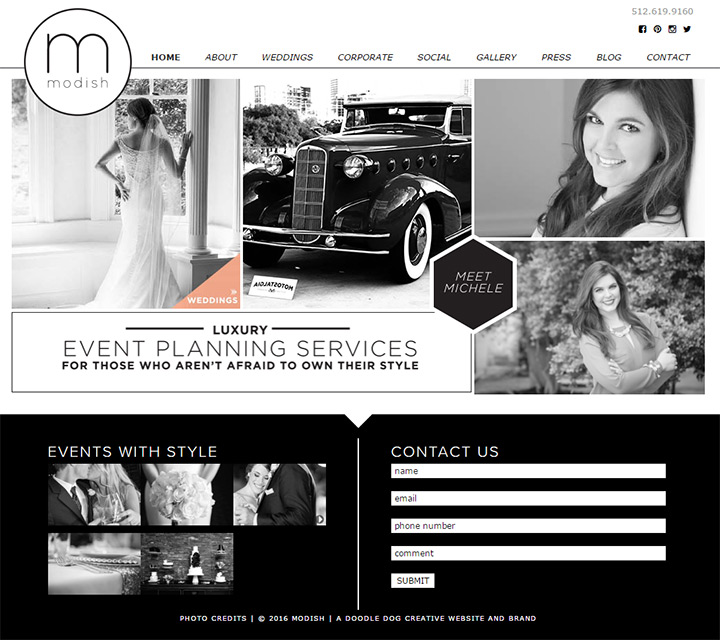 modish events