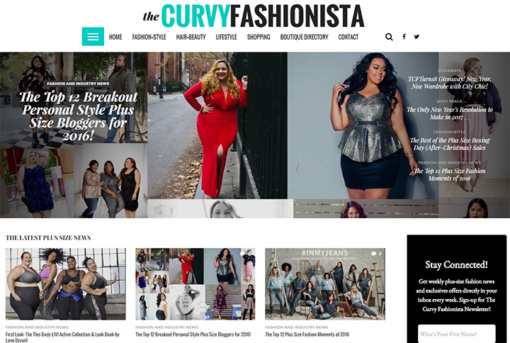 Fashion And Design Blogs Part - 20: The Curvy Fashionista