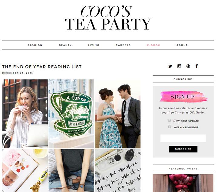 cocos tea party