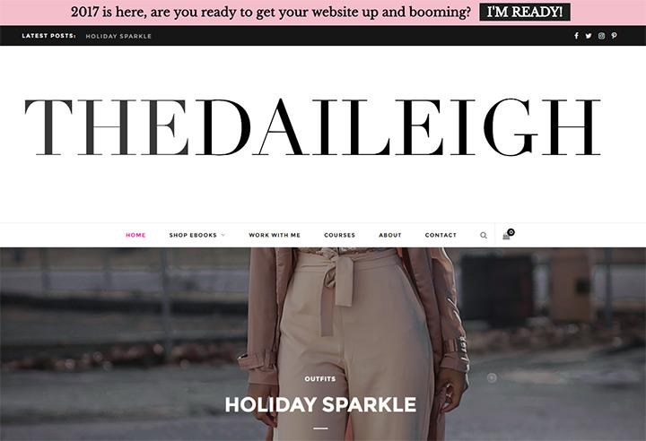 daileigh homepage
