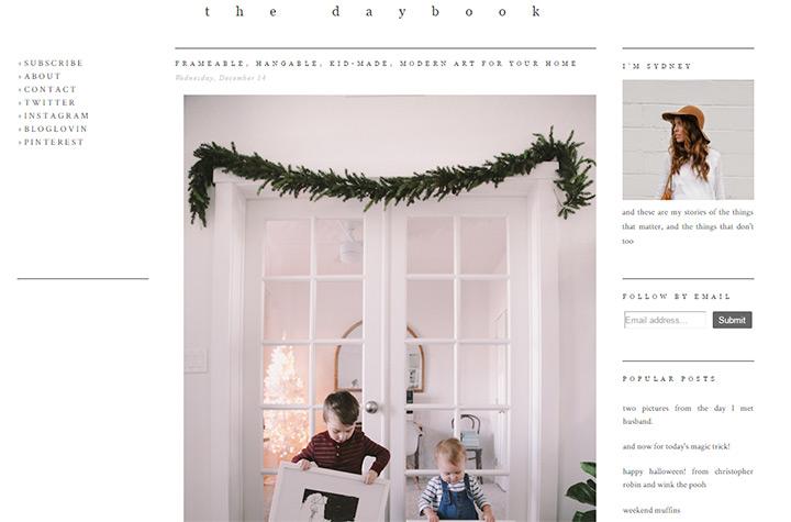 daybook fashion blog