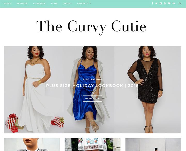 curvy cutie blog