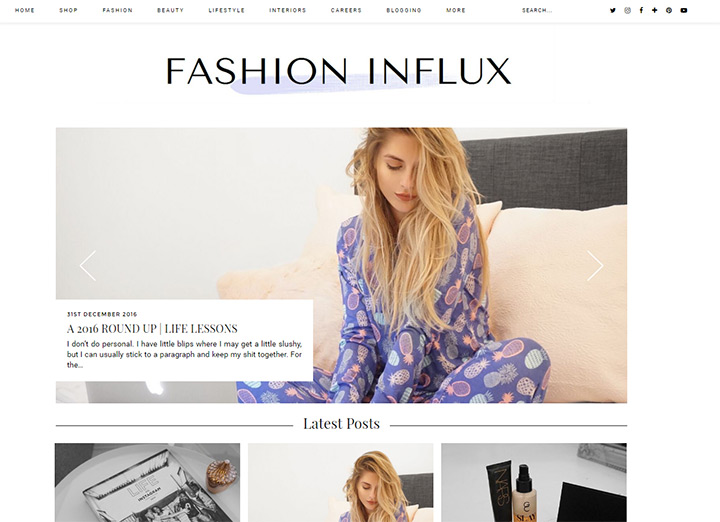 fashion influx blog