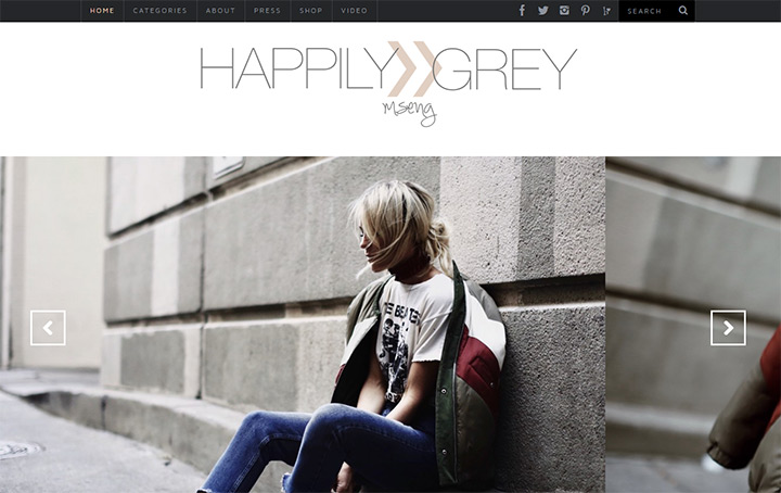 happily grey blog