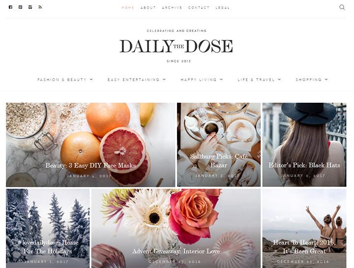 daily dose fashion blog